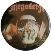 Megadeth - 'Vic' Button Badge